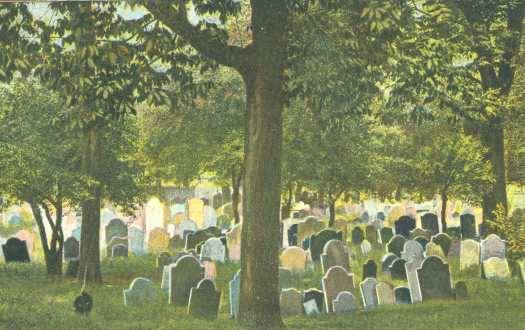 Copp's Hill Burying Ground, 1908