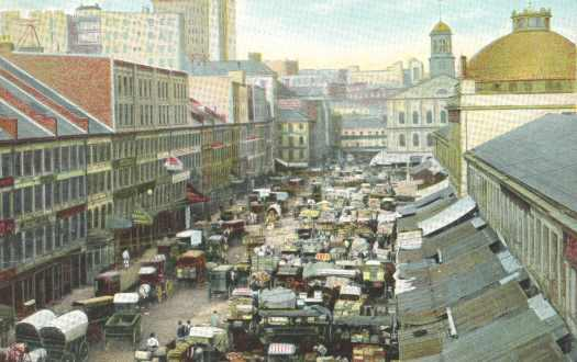 Faneuil Hall Marketplace, 1910s