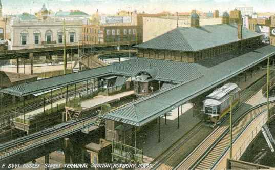 Old Dudley Street Terminal In 1906