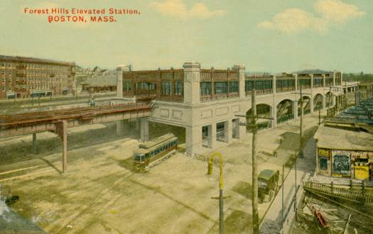 Old Forest Hills Elevated Station
