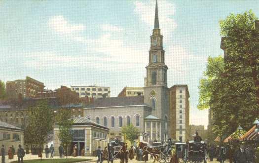 Park Street Church, 1906