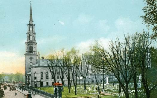Park Street Church And Granary Burying Ground