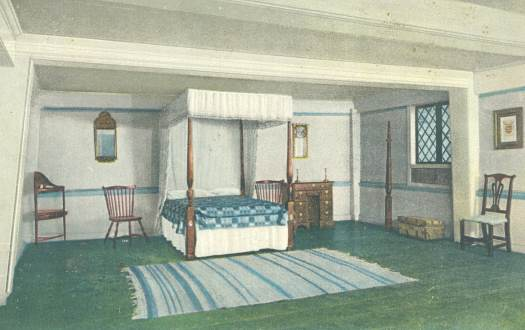 Interior Of Paul Revere House, The Master Bedroom
