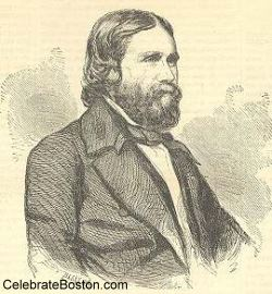 James Russell Lowell in 1855