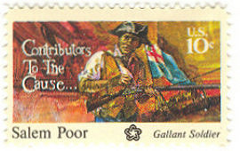 Salem Poor Commemorative Stamp