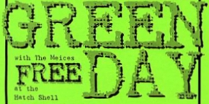 Green Day Riot Handbill