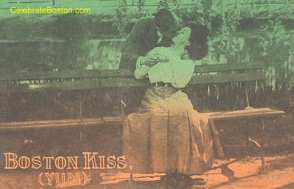 Kissing Was A Crime In Puritan Boston