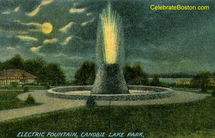 Canobie Lake Old Electric Fountain