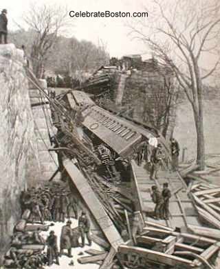 Bussey Bridge Wreck
