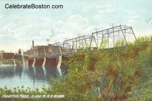 Haverhill Bridge Wreck Site, 1888