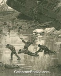 Escaping From The Vermont Central Wreck, 1887