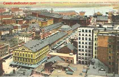 Faneuil Hall Marketplace, c.1910
