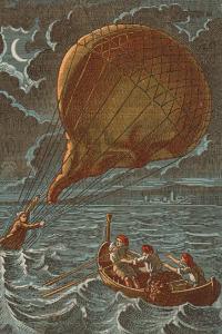 Balloon Crash In Water