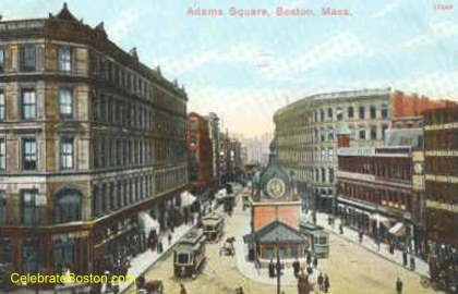Old Adams Square Station Kiosk