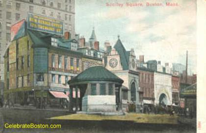 Old Scollay Square Station Kiosk