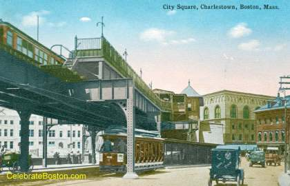 City Square Elevated Station, East