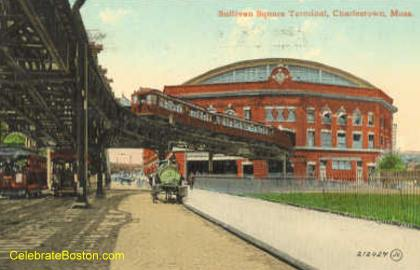 Old Sullivan Square Elevated Terminal