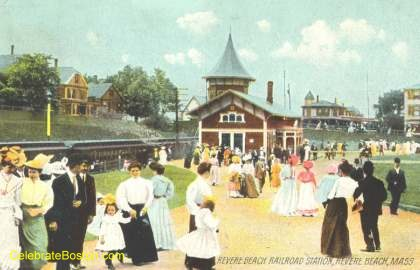 Crescent Beach Station, 1910