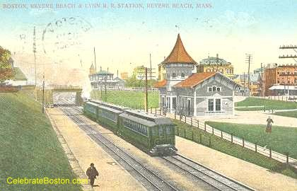 Crescent Beach Station, 1911