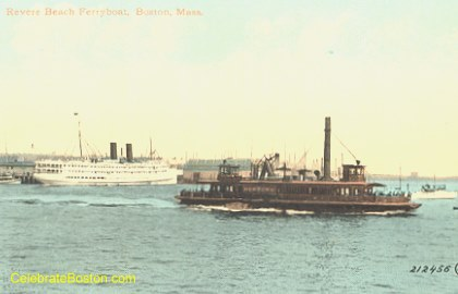 BRB&L Ferry to East Boston, c.1920