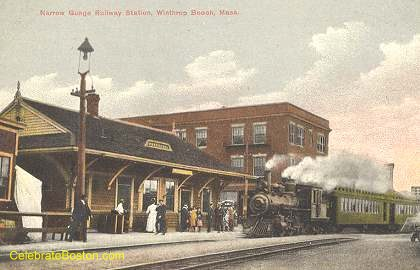 Winthrop Beach Station, c.1920