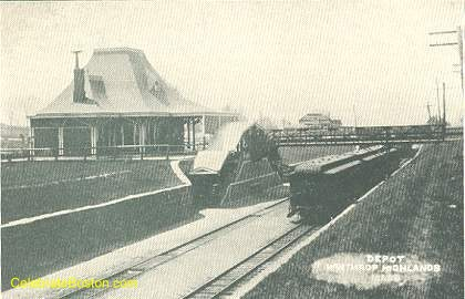 Winthrop Highlands Station, c.1908