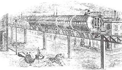 Meigs Elevated Railway Rendition