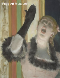 Degas, The Singer With The Glove