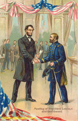 Meeting With General Grant 1864, c.1912