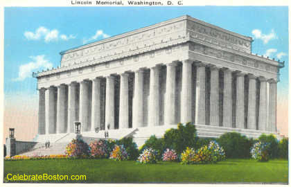 Lincoln Memorial Washington DC, c.1930