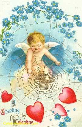 A Valentine Web, c.1910