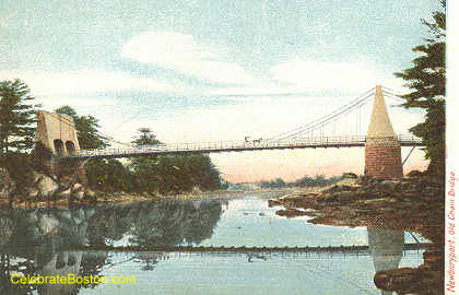 Old Newburyport Bridge, 1907