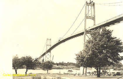 Thousand Islands Bridge, 1938