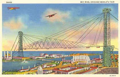 Skyride Monorail, Chicago World's Fair