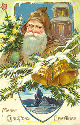 Edwardian Santa Claus, 1907