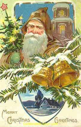 Edwardian Santa Claus, 1907