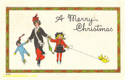 Christmas Greetings On Ice, 1914