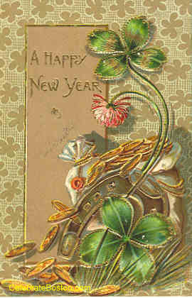 Happy New Year With Horseshoe, 1908