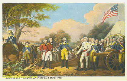 Surrender Of Burgoyne At Saratoga 1777, c.1925