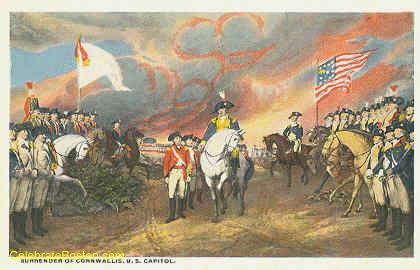 Surrender Of Cornwallis At Yorktown 1781, c.1925