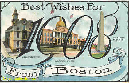Best Wishes For 1908