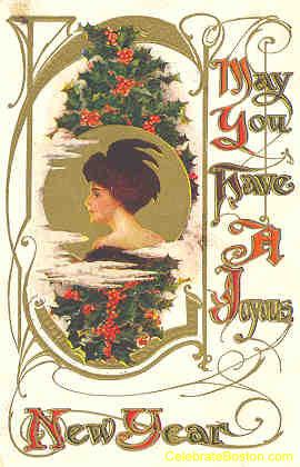 Joyous New Year, c.1912