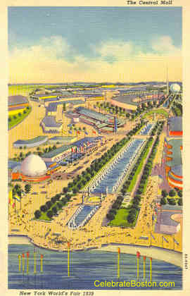 World's Fair Central Mall