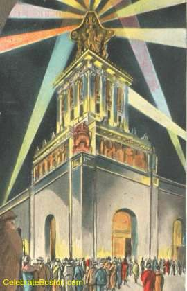 Light Tower At Philadelphia Exposition