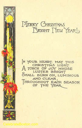 A Torch of Joy Poem, c.1920