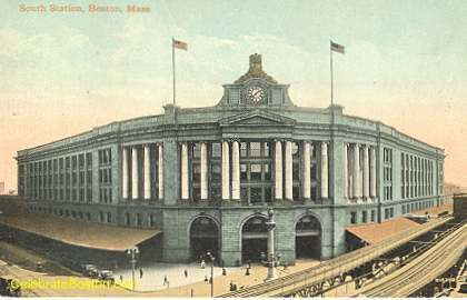 South Station, Boston, 1910