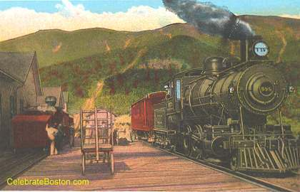 White Mountains Railroad Station, 1930