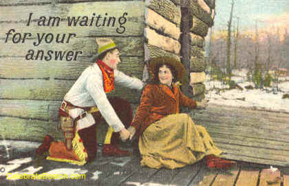 Waiting for Your Answer, c.1915