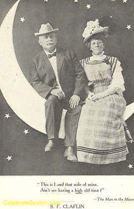 High Old Time On A Paper Moon, c.1925