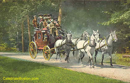 Adirondack Mountain Stage Coach
